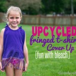 upcycled tshirt coverup