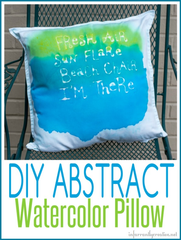DIY-abstract-watercolor-pillow