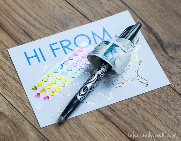 road trip printable postcards
