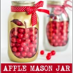 apple mason jar back to school