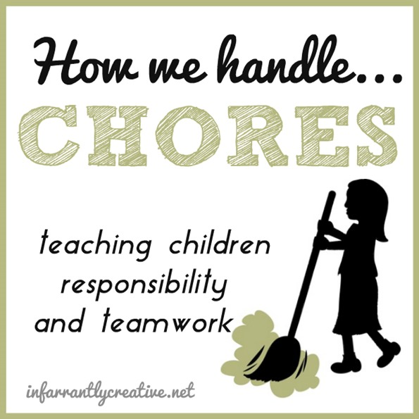 How We Handle Chores {ages 6 and 9}