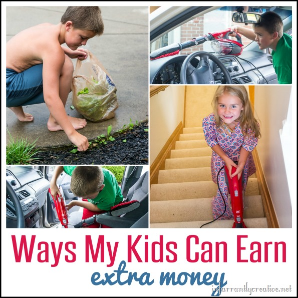 Ways My Kids Can Earn EXTRA Money {outside of weekly chores}