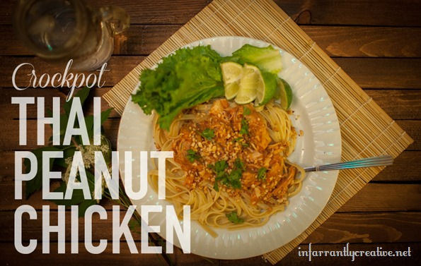 Crockpot Thai Peanut Chicken