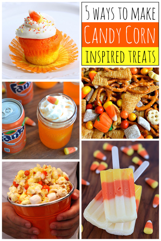 5 Ways to Make Candy Corn Inspired Treats