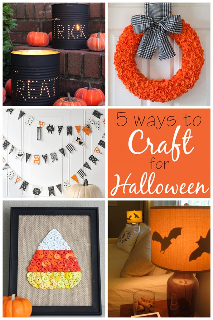 5 Ways to Craft for Halloween