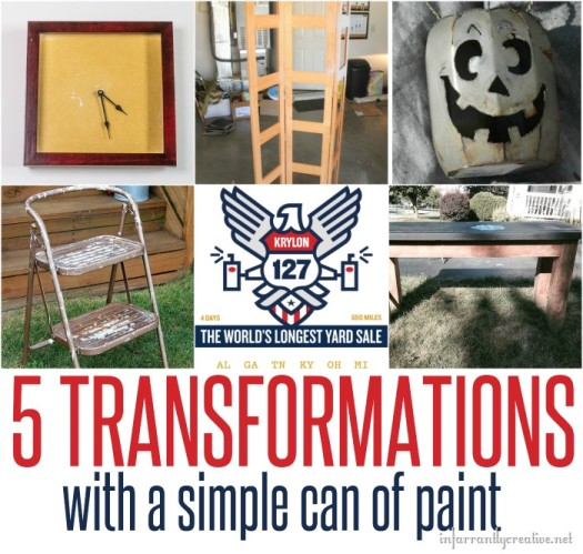 5 Transformations with a Simple Can of Paint