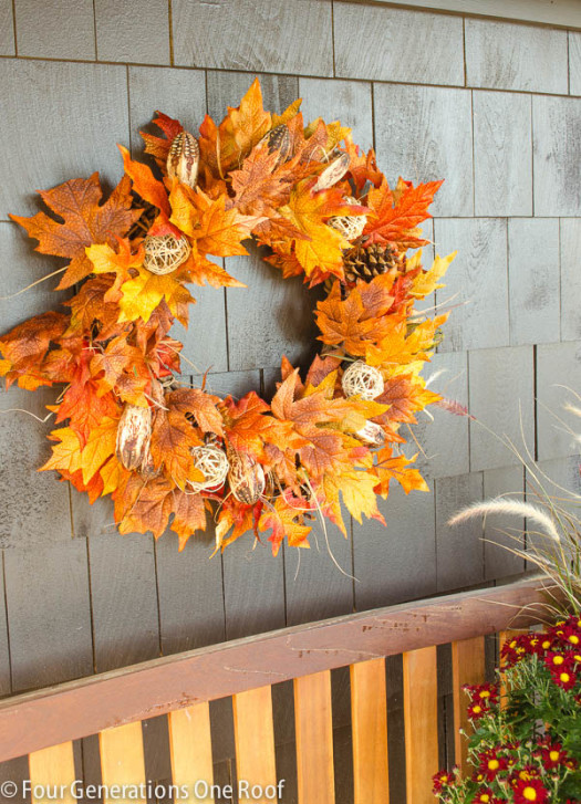 5 Ways To Decorate With Fall Leaves