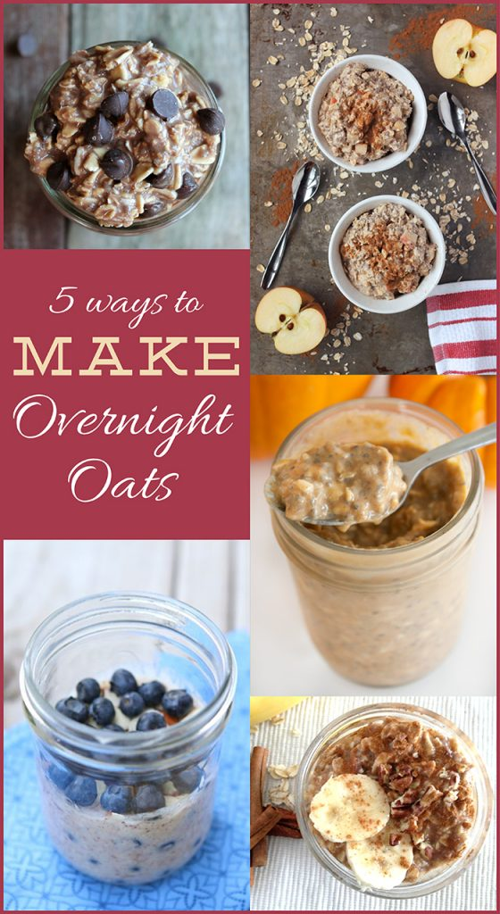 5 Ways to Make Overnight Oats