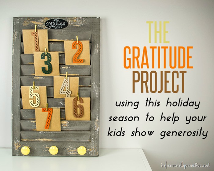 The Gratitude Project – Teaching your Kids to Give to Others
