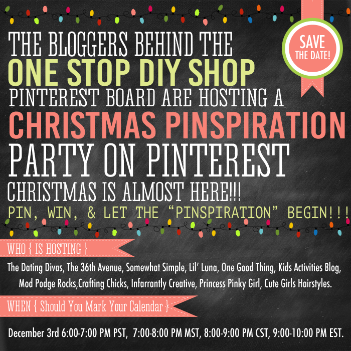 Christmas Pinspiration Party +{Free Rockin Christmas Printable}