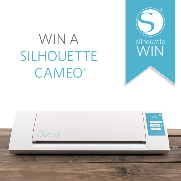 Silhouette Cameo Giveaway- CLOSED