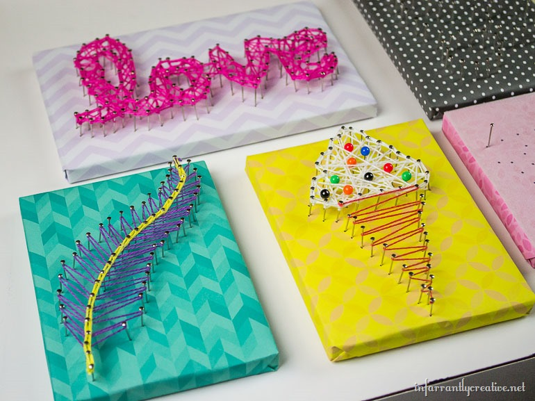 String Art Made Easy For Kids Infarrantly Creative