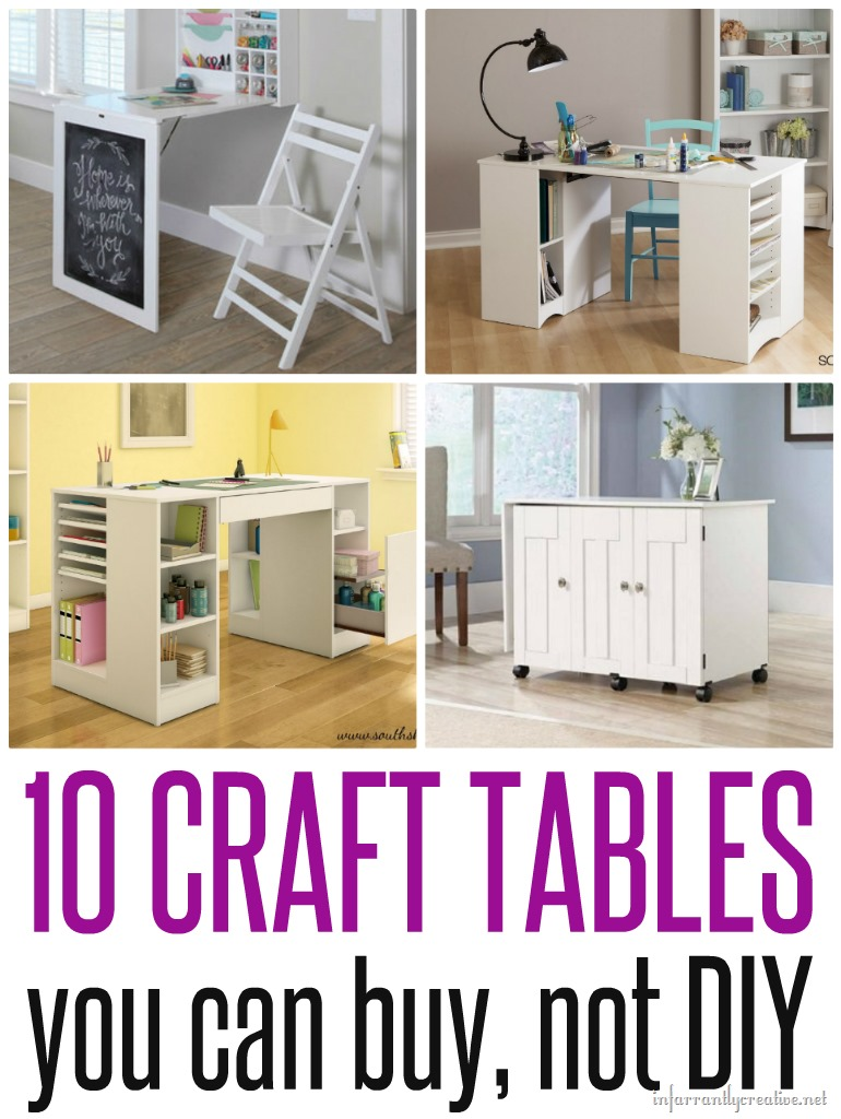 Diy Sewing And Craft Tables