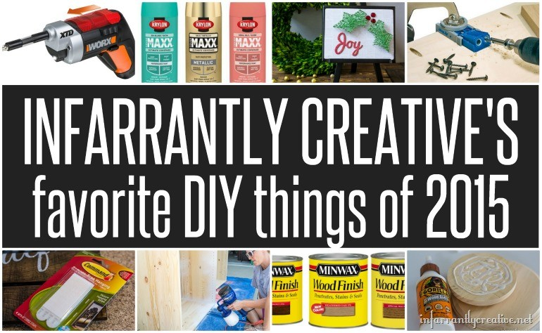 My Favorite DIY Things Giveaway