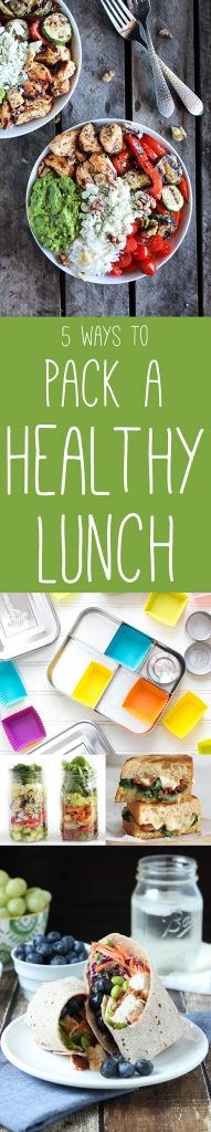 5 Ways to Pack a Healthy Lunch