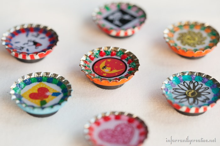 Bottlecap Magnets (2)
