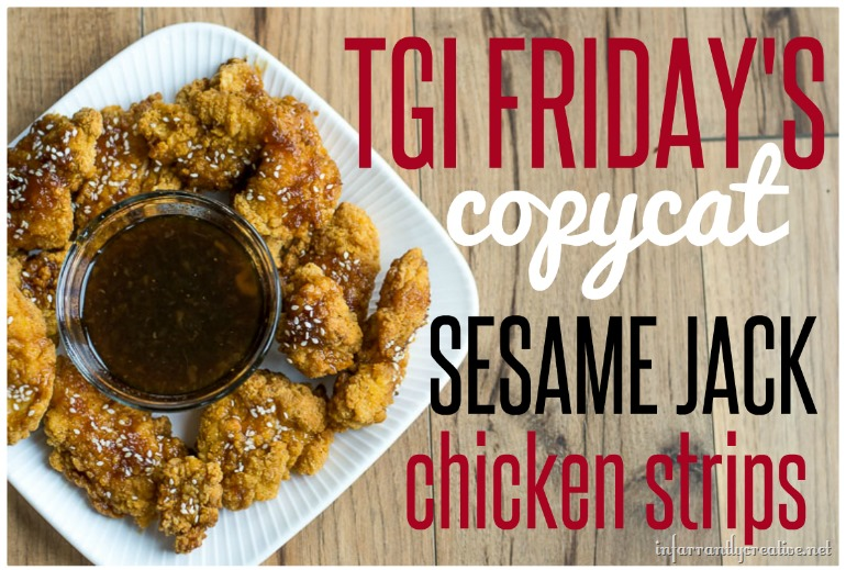 Chicken jack recipe sesame strip