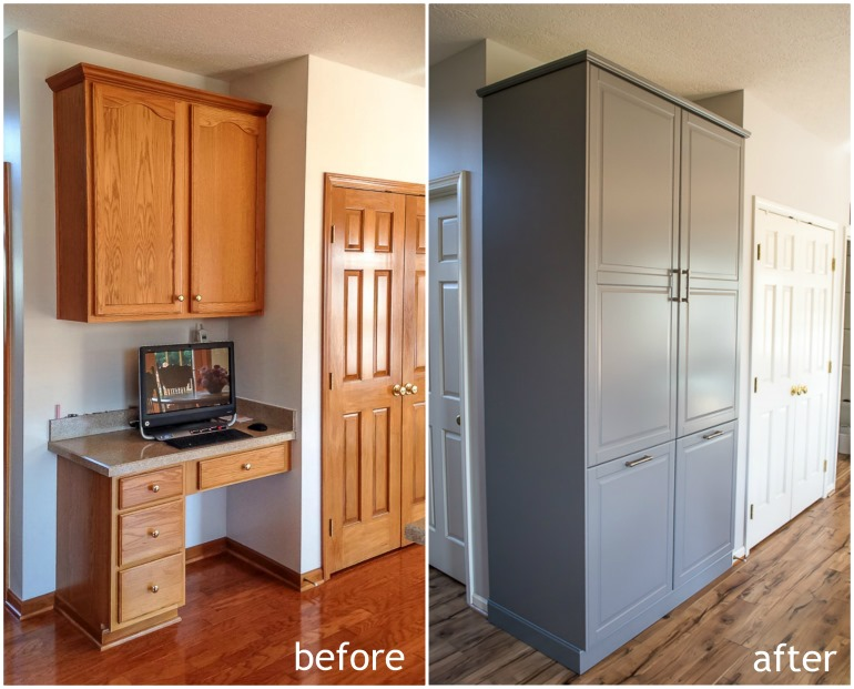 How to assemble an ikea sektion pantry infarrantly creative for Ikea storage cabinets kitchen
