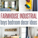 farmhouse boys bedroom