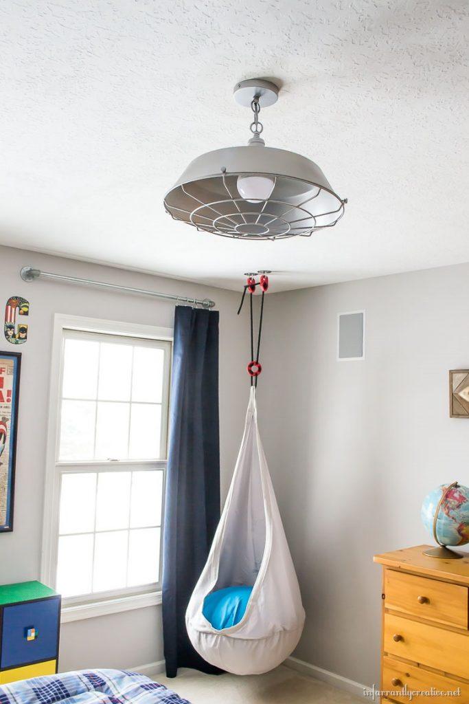 boy s industrial bedroom decor. Black Bedroom Furniture Sets. Home Design Ideas