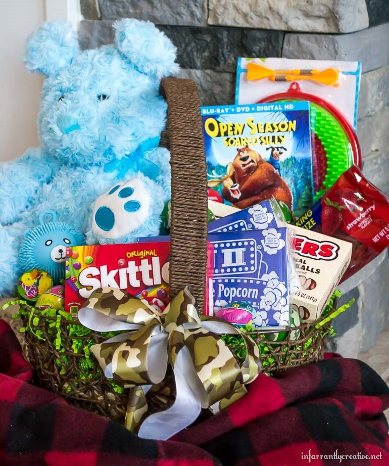 Open Season Scared Silly Easter Basket