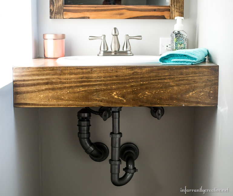 Image Result For Diy Floating Vanity