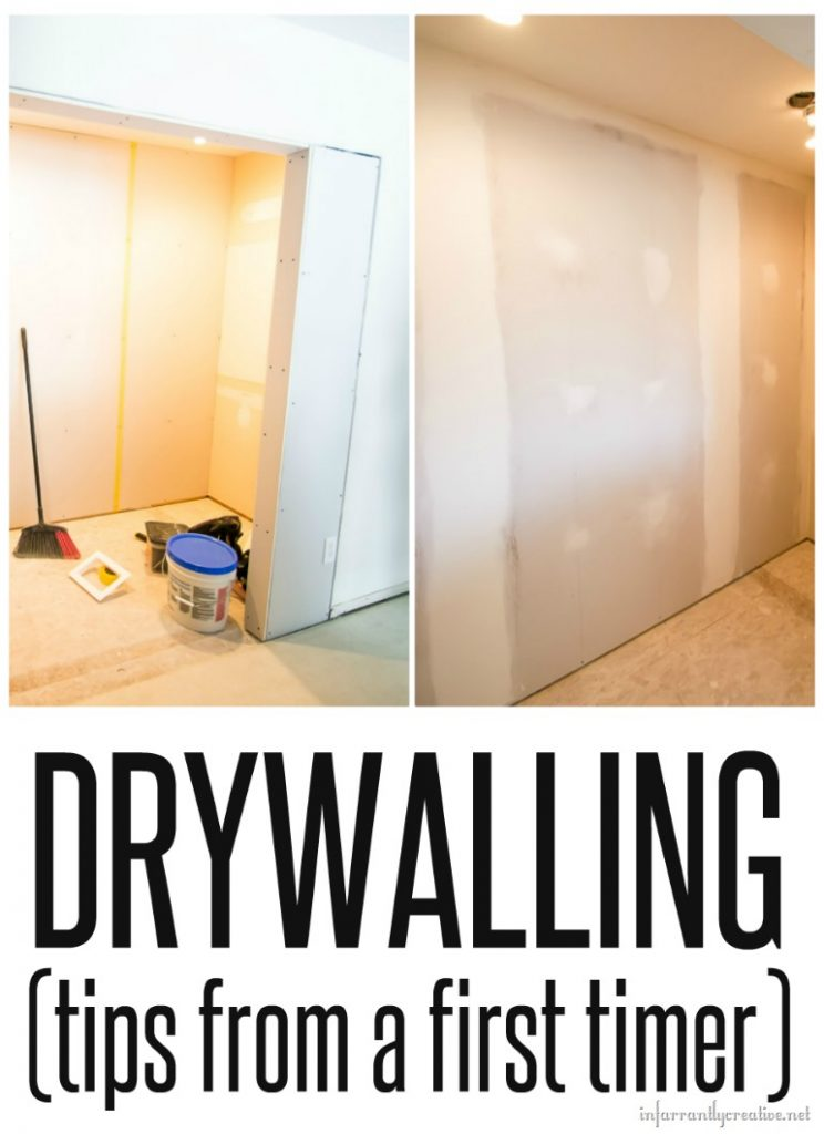 Tips For Drywalling And Mudding From A Newbie Laundry