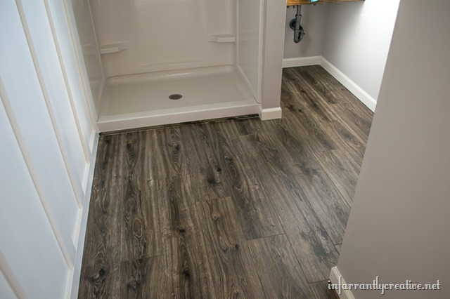 Flooring In the Bathroom and Laundry Room - Infarrantly ...
