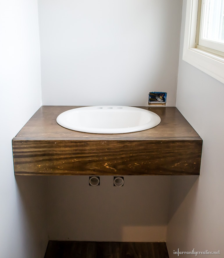 Diy Floating Wood Vanity
