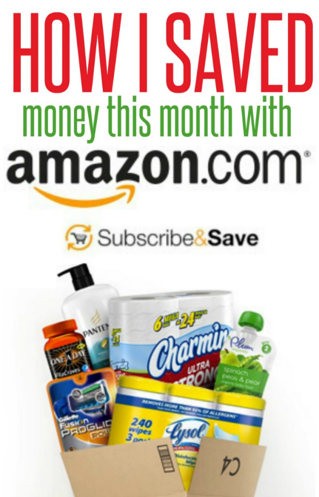Amazon Subscribe & Save {how I saved $15 this month}