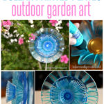 outdoor-painted-glass-plate-flowers