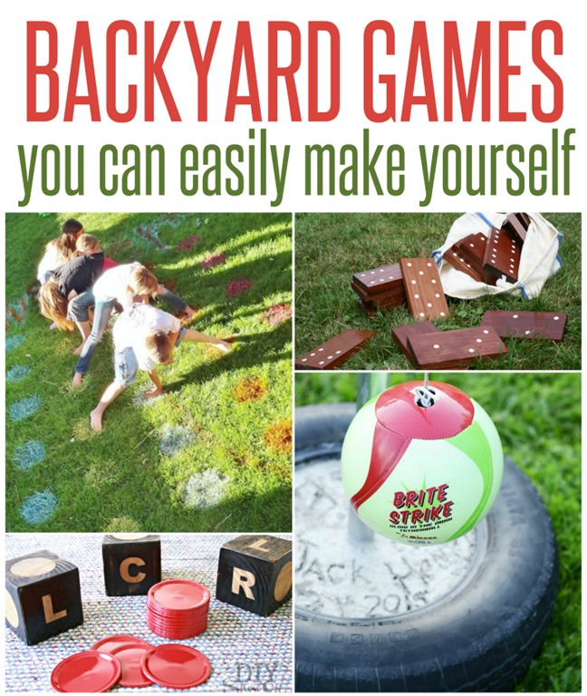 50 Outdoor Games To Diy This Summer: Five Fun Outdoor Games To Make This Weekend