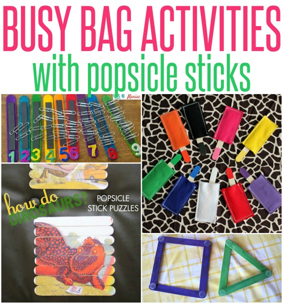Busy Bag Activities You Can Make With Popsicle Sticks