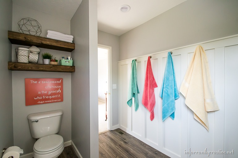 farmhouse bathroom - D. Lawless Hardware