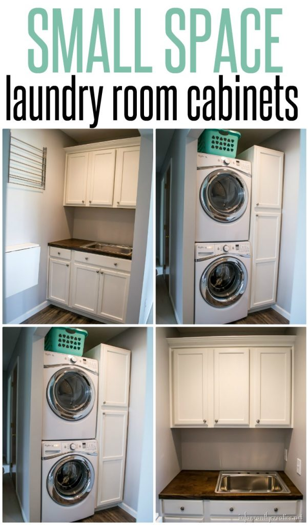 Laundry room cabinets small space laundry room area - Utility rooms in small spaces gallery ...