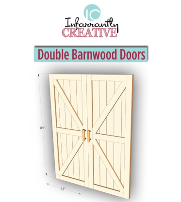 DIY Double Barn Door Plans