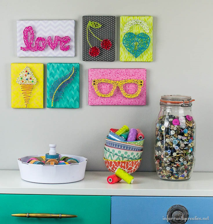String Art Made Easy for Kids - Infarrantly Creative