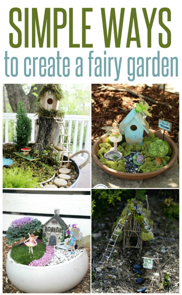 5 Ways to Create a Fairy Garden