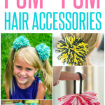 how-to-make-pom-pom-hair-accessories