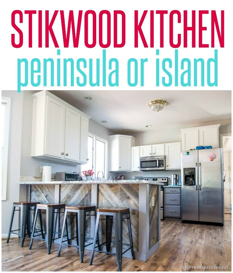 Stikwood Kitchen Peninsula