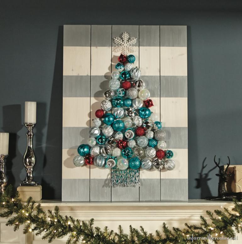 DIH Holiday Ornament Display