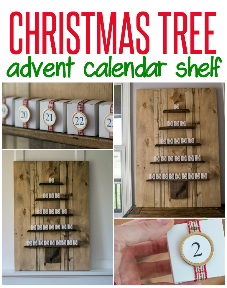 Advent Calendar Shelf