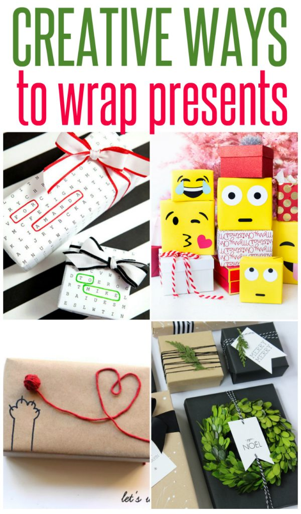 Unique Ways To Decorate Living Room: 5 Creative Ways To Wrap Presents