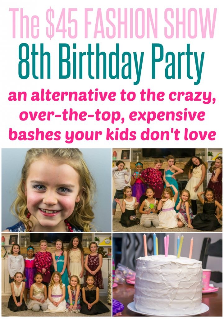 My Daughter's 8th Birthday Party – Why I Gave up the Party Planning Hat