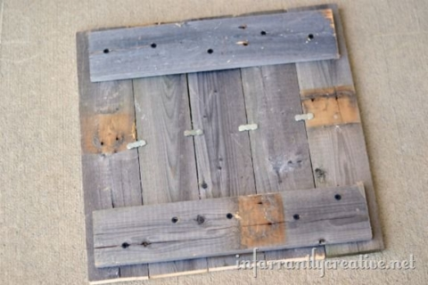 pallets nailed together